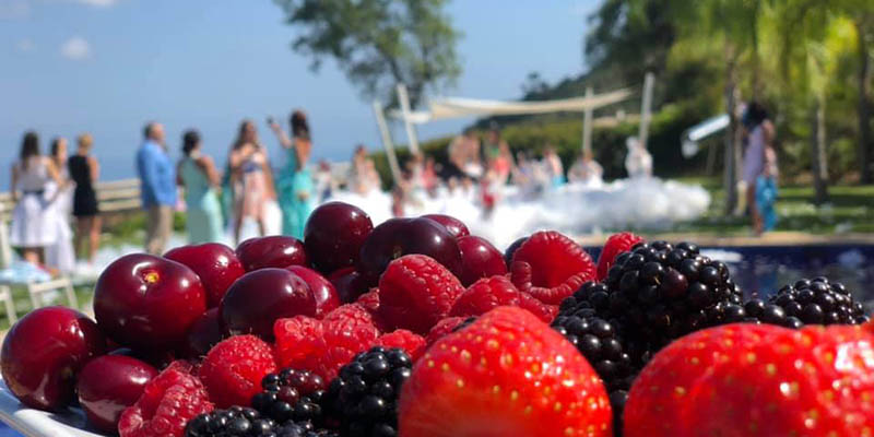Facilities and gastronomic food suitable for all types of events in Benahavis Hills Country Club