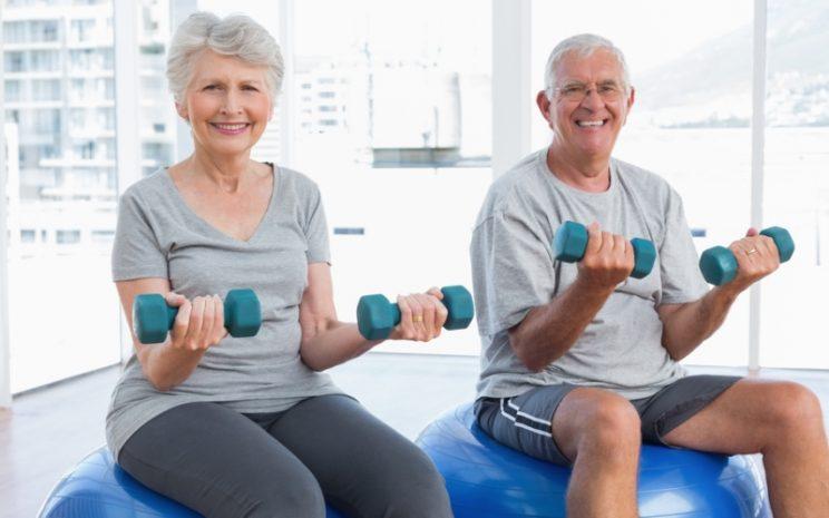 Seniors at Benahavis Hills gym